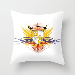 Yellow Jacket Fencing Club Classic Throw Pillow