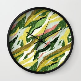 Gorgeous  Green Military Wall Clock