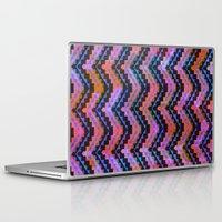 southwest Laptop & iPad Skins featuring Southwest Chevron by Schatzi Brown