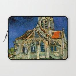 Vincent Van Gogh The Church at Auvers 1890 Laptop Sleeve