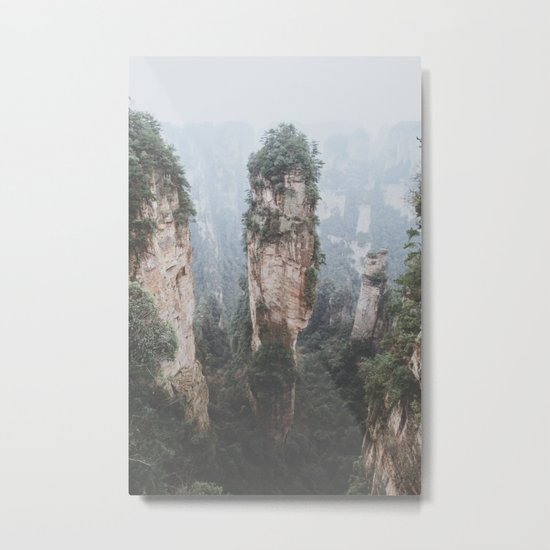 Zhangjiejia National Forest Park Metal Print