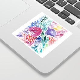 Floral Swirl Sticker