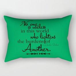 Who Lightens Rectangular Pillow