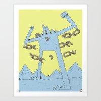 The Peak Art Print