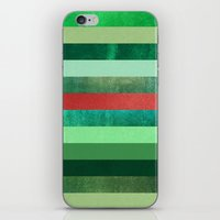 watermelon iPhone & iPod Skins featuring Watermelon by Elisabeth Fredriksson