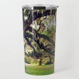Live Oak Tree with Spanish Moss Travel Mug