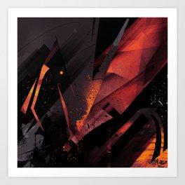 S--Abstract Art Print