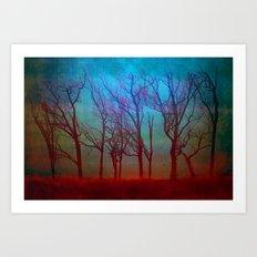 Landscape of a Fantasy Art Print