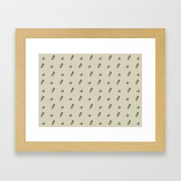 Peas & Carrots Framed Art Print
