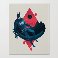 knight Canvas Prints featuring Knight by Reno Nogaj