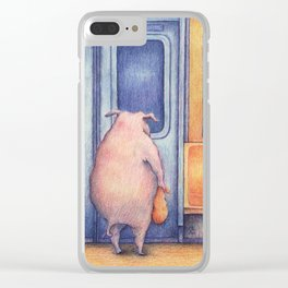 The Commuters Clear iPhone Case