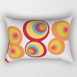8 Balls Rectangular Pillow