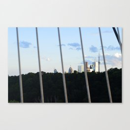 Toronto Series - Fenced Canvas Print