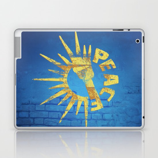 Moar Peace Laptop & iPad Skin