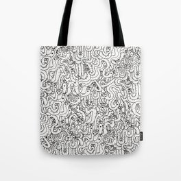 Oodles of Worms Tote Bag