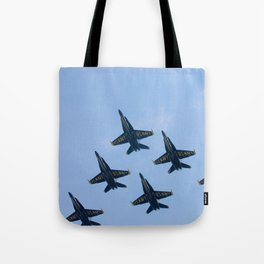 Blue Angels in Seattle Tote Bag