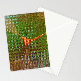 COLOR ABSTRCT Stationery Cards