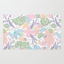 floral pastel spring dreams Rug