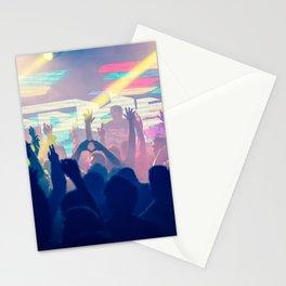 DJ show Stationery Cards
