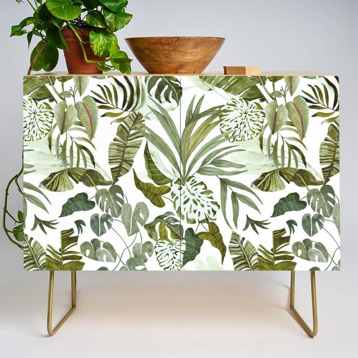 Wild botany in the jungle Credenza