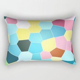 colour vector polygons Rectangular Pillow