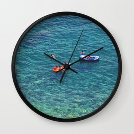 Summers in Capri are what dreams are made of. Wall Clock