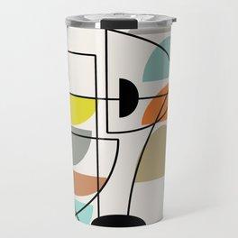 "Mid Century Modern ""Bowls"" Travel Mug"
