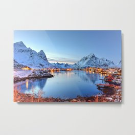 Lofoten islands, Norway Metal Print