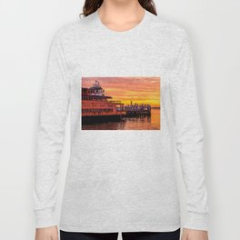 Ferry Boat John F. Kennedy Long Sleeve T-shirt