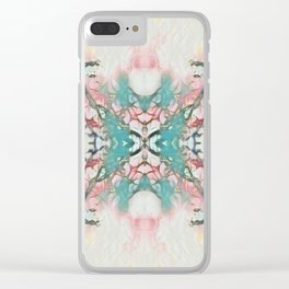 Pastel Thorns - Psychedelic Summer Series by iDeal Clear iPhone Case