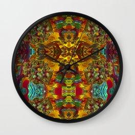 ▲►Abstract Kindergarten◄▲ Wall Clock