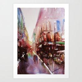 Paris atmospheric #3 Art Print