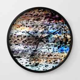 Rain Drops Magic #3 Wall Clock