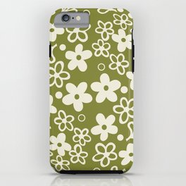 Spring Blossom Pattern iPhone Case