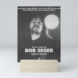 BOB SEGER IYENG 1 Mini Art Print