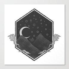 Dark Hills Canvas Print