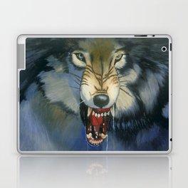 Growling Wolf Laptop & iPad Skin