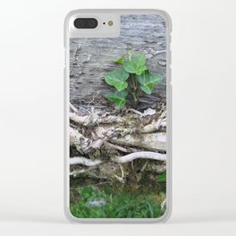 Life begets life Clear iPhone Case