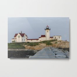 Eastern Point Lighthouse Aug2017 Metal Print