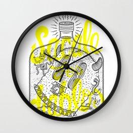 Sacale los diablos Wall Clock