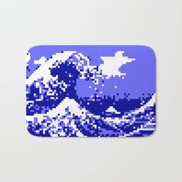 Pixel Tsunami Bath Mat