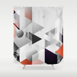 geometric woman II Shower Curtain