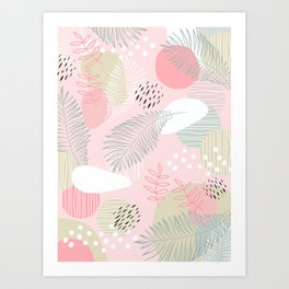 Get out of your own way on Mid Modern Nature Art Print