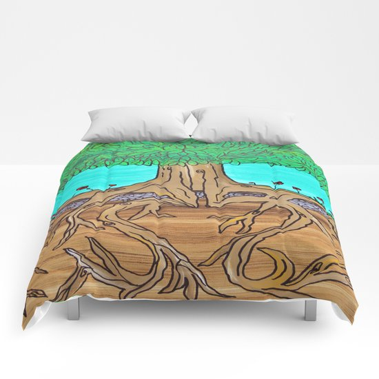 Family Roots Comforters