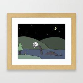 Dream world. Framed Art Print