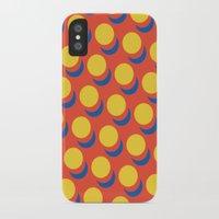 lichtenstein iPhone & iPod Cases featuring Wanna-Be Roy Lichtenstein Pattern by Heidi Clifford