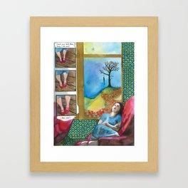 Click your heels Framed Art Print