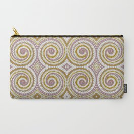 Rose Gold swirl Carry-All Pouch