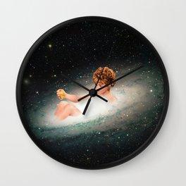 Stars Bathing Wall Clock