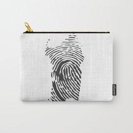 Sardinian fingerprint Carry-All Pouch